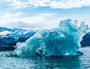 Hintergrundbilder Island Eis Auster-Skaftafellssysla Natur