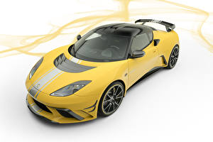 Wallpapers Lotus White background Yellow 2019 Mansory Evora GTE