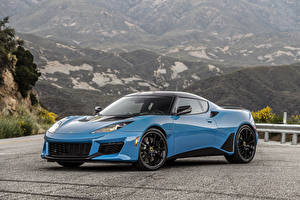 Photo Lotus Light Blue Metallic 2020 Evora GT