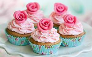 Images Baking Roses Fairy cake