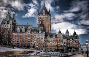 Photo Quebec Canada Castles Hotel HDRI