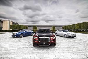 Hintergrundbilder Rolls-Royce Luxus Drei 3 2019 Ghost Zenith Collection