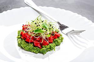 Hintergrundbilder Salat Gemüse Gabel Lebensmittel