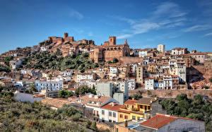 Bilder Spanien Gebäude Hügel  Städte