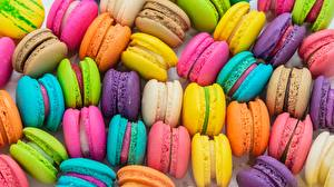 Picture Texture Macaron Multicolor Food