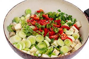 Picture Vegetables Frying pan Sliced food Food