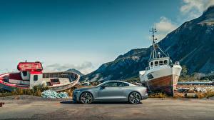 Bilder Graue Seitlich 2019 Polestar 1 Worldwide auto