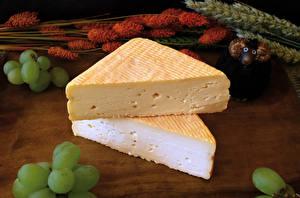 Image Cheese Grapes Food
