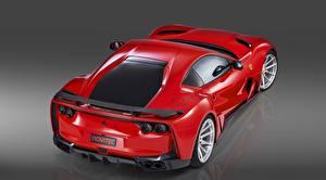 Bilder Ferrari Metallisch Rot Novitec 812 2019 Autos