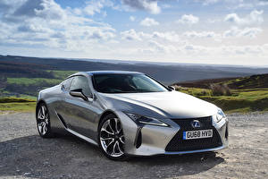 Picture Lexus Silver color Luxury 2017-19 LC 500h Cars