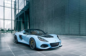 Photo Lotus Light Blue 2018-19 Exige Sport 410 Worldwide automobile