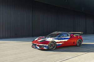 Wallpaper Lotus Tuning Red 2019 Evora GT4 Concept