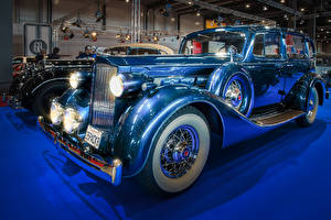 Fotos Antik Hellblau 1935 Packard Eight auto