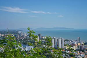 Bilder Vietnam Gebäude Küste Vung Tau