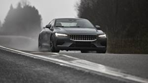 Picture Volvo Gray Front Polestar 1 2019 auto