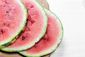 Bilder Wassermelonen Stücke