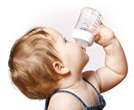 Hintergrundbilder Weißer hintergrund Baby Haar Hand Flaschen