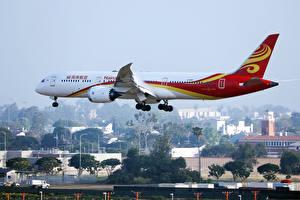 Pictures Boeing Airplane Passenger Airplanes Flight B 787