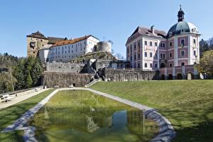 Fotos Burg Teich Tschechische Republik  Städte