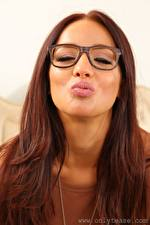 Picture Chicane only Brown haired Kissing Glasses female