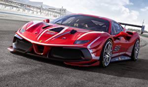 Bilder Ferrari Rot 488 Challenge Evo auto