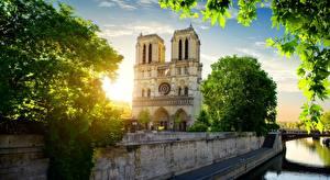 Bilder Frankreich Paris Notre Dame