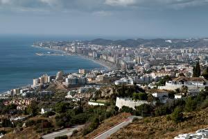 Hintergrundbilder Haus Spanien Küste Andalusia, Fuengirola Städte