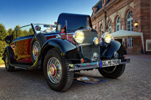 Photo Mercedes-Benz Retro Cabriolet Metallic 1936 290 B Cars