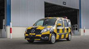 Fotos Mercedes-Benz Fahrzeugtuning Taxi - Autos Metallisch Ein Van 2013-19 Citan Follow-me-Car by INTAX
