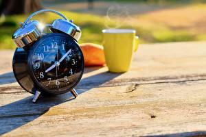 Wallpaper Morning Clock Alarm clock Bokeh Mug
