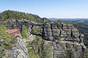 Wallpapers Mountain Czech Republic Crag  Nature