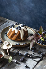 Wallpapers Baking Pound Cake Blueberries Boards