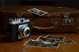 Bilder Retro Koffer Fotoapparat Agfa
