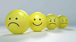 Fonds d'écran Smilies Bokeh Sourire Tristesse