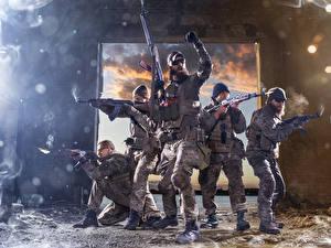 Fotos Soldat Sturmgewehr Mann Uniform