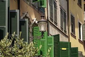 Bilder Schweiz Fenster Laterne Straßenlaterne Solothurn Städte