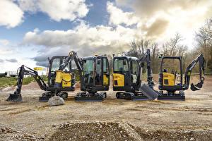 Bilder Volvo Technik Bagger Radlader EC15E, EC18E, EC20E, ECR18E