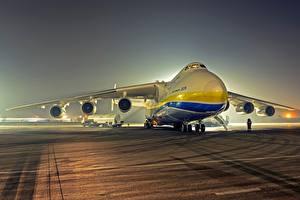 Fotos Flugzeuge Transportflugzeuge An-225 Mriya