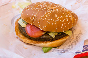 Hintergrundbilder Fast food Burger Fleischbällchen Hautnah Lebensmittel