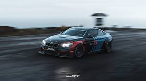 Bureaubladachtergronden Forza Horizon 4 BMW Beweging M4 by Wallpy Computerspellen Auto 3D_graphics
