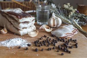 Bilder Knoblauch Schwarzer Pfeffer Salz Salo - Lebensmittel