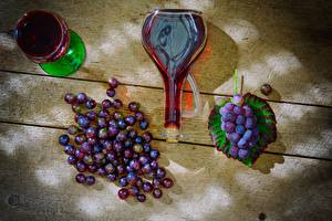 Image Grapes Wine Bottle Stemware Food