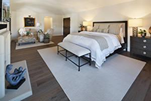 Fotos Innenarchitektur Design Schlafzimmer Bett Lampe