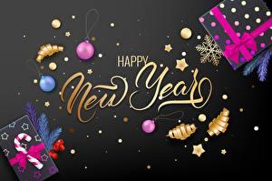Fotos Schmuck Neujahr Text Schachtel Vorlage Grußkarte Englisch