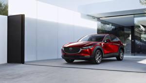 Bilder Mazda Rot Crossover 2019 CX-30 Worldwide