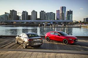 Hintergrundbilder Mazda 2 2019 Mazda3 auto