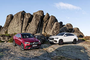 Bilder Mercedes-Benz Coupe 2 Metallisch Crossover 2019 GLE-Klasse