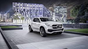 Picture Mercedes-Benz Pickup Silver color X 350 Cars