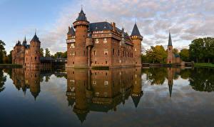Fotos Niederlande Burg Kanal Castle De Haar