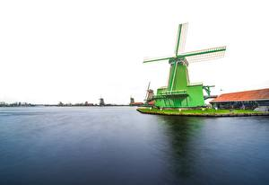 Bilder Niederlande Mühle Zaanse Schans
